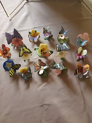 1985 Franklin Mint Butterflies of The World Collection