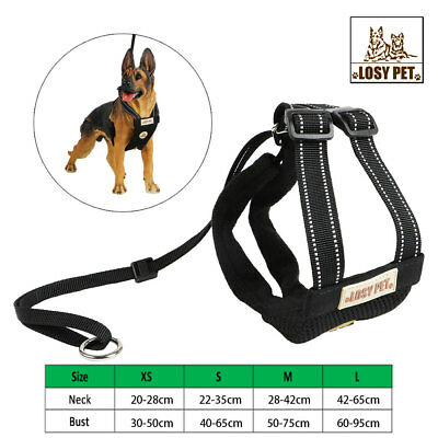 Pet Collar Large Dog Soft Adjustable Leashes Harness Walk Out Hand Strap Vest US