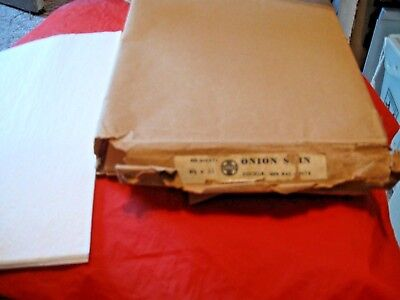 50 Sheets Of Vintage ATSF Santa Fe Railroad  Onion Skin Paper With Some Logo