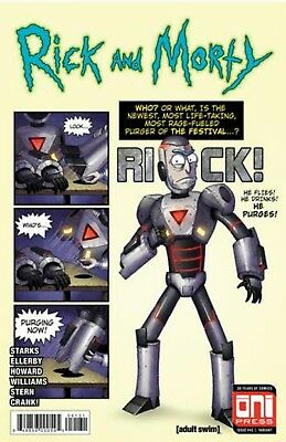 Rick And Morty #41 Variant Mike Vasquez Tales Of Suspense 39 Homage 8/29 Presale