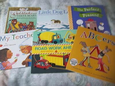 My Teacher, ABCer's, Road Work Ahead,  Perfect Present, Little Dog Lost (Lot 6)