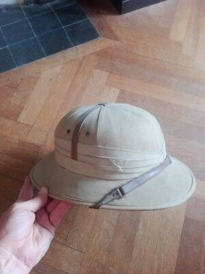 casque coloniale FFL France 40 WWII 39/45