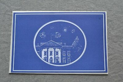 2001 White House 4th of July Party Invitation