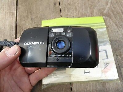 vintage Olympus MJU1 35 mm camera..working..