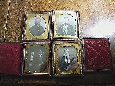 Group of 1/6 Plate Daguerreotypes