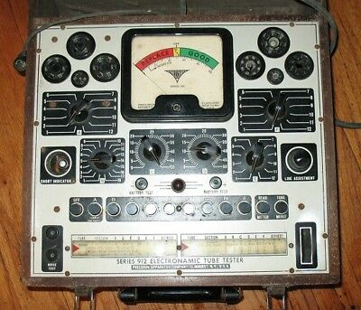Vintage Precision Apparatus Co. Series 912 Electronamic Tube Tester