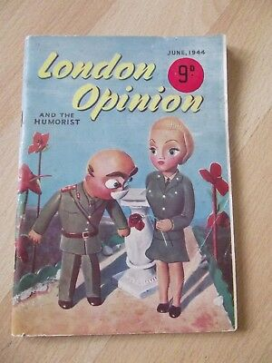 Vintage London Opinion and the humorist June 1944 WW2 jokes