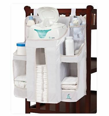 hiccapop Nursery Organizer and Baby Diaper Caddy Hanging Storage - 1940