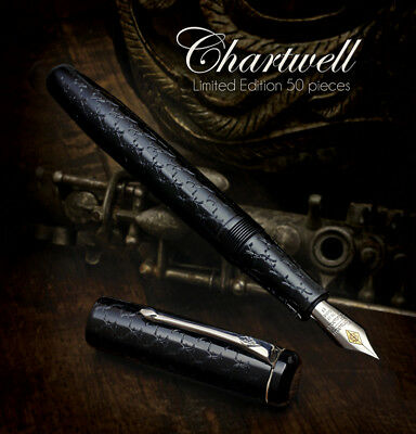 Conway Stewart Chartwell Limited Edition Fountain Pen -Never Been Used