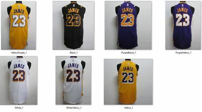 Canotta NBA basket maglia LeBron James 23 jersey Los Angeles Lakers S/M/L/XL/XXL