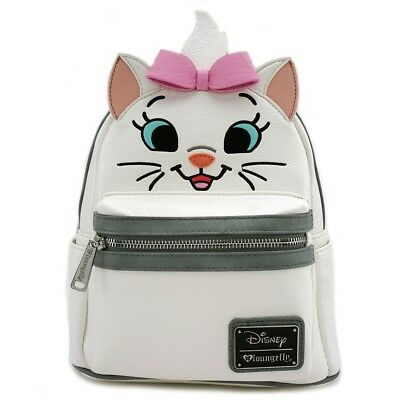 Loungefly - Disney Aristocats MARIE ~ Mini Faux Leather Face Backpack WDBK0306