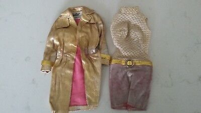 Vintage Barbie Intrigue #1470 Outfit Incomplete