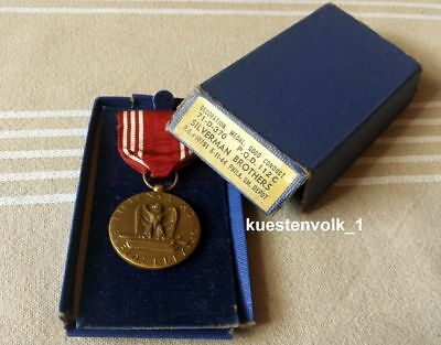 Orig. Orden USA Efficiency Honor Fidelity Medal for Good Conduct am Band Etui
