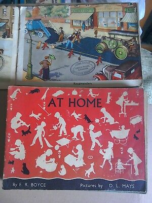 Collection Of Vintage Picture Books By Macmillan.
