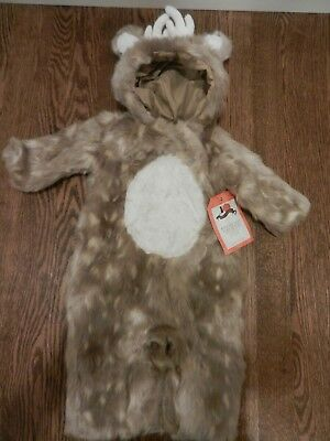 New Pottery Barn Kids Woodland Deer Costume Size 6-12 Months Baby