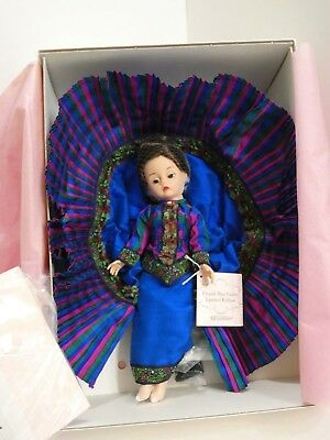 Rare Madame Alexander Doll French Blue Godey NEW IN BOX Limited Edition