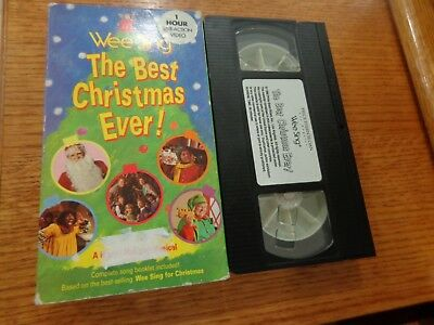 Wee Sing The Best Christmas Ever Vhs.Wee Sing The Best Christmas Ever Vhs Live Video A Happy Holiday Musical