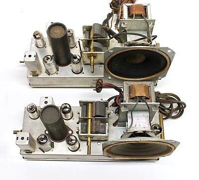 Antique Tube Radio Chassis Lot Of 2