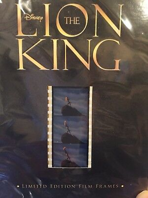 Disney - The Lion King - Limited Edition Film Frames - 35 Mm Strip - New Sealed