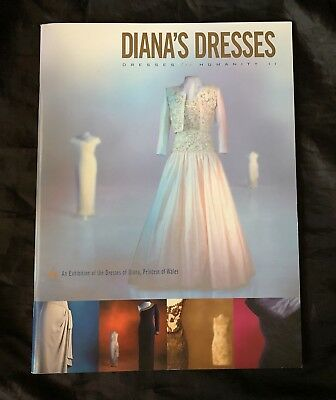 """NEW!  Princess Diana's """"Dresses For Humanity II"""" - Exhibition of Dresses, Book!"""