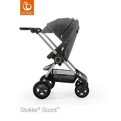 Stokke Scoot Black NEW Incl. Rain Cover 463401