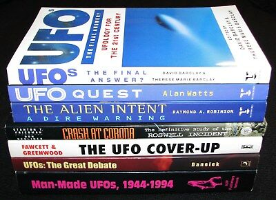 UFO's~ Alien Intent, UFO Coverup, Crash at Corona, Great Debate, Man-Made UFOs