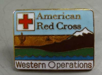 AMERICAN RED CROSS WESTERN OPERATIONS PIN #nm562