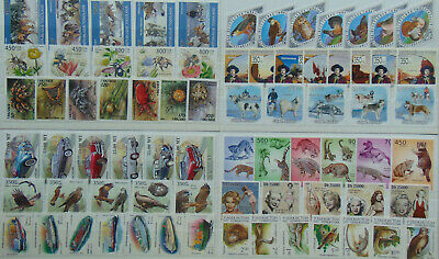 100 different beautiful topical cpl. stamp SETS MNH Composition  Lot