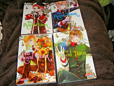 The Royal Tutor Band 1-4