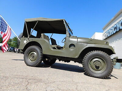 1955 Willys Custom Military 1955 Willys Military M38A1 Jeep 4X4 4 WD Nice