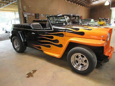 1950 Willys Jeepster  1950 Willys Jeepster street rod  barn find