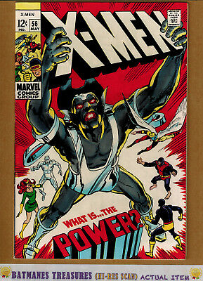 Uncanny X-Men #56 (8.5) VF+ Cover By Neal Adams 1969 Silver Age Key Issue