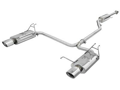 AFE POWER 49-36612 304 Stainless Steel Cat-Back Exhaust System for Honda
