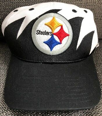 e1406049 PITTSBURGH STEELERS REEBOK VINTAGE Shark Tooth Velcro Hat - BRAND NEW!