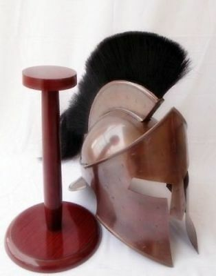 Medieval King Leonidas Helmet Roman Helm Spartan 300 Movie Helme brand new