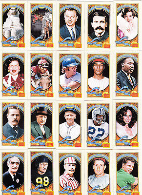 A Lot Of (23) 2014 Panini Golden Age Mini Cards Green Blue Brown Red Backs