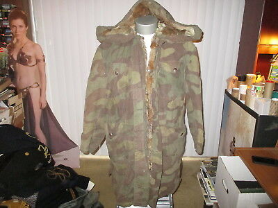 Wwii German Army Hooded Parka Made Of Italian Camo