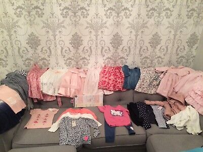 girls 18-24 months bundle pretty originals emile et rose debenhams m&s next asda