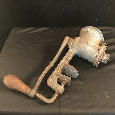 Dandy #1 Table Top Meat Grinder New Standard Corp Made in USA Mt.Joy PA Vintage