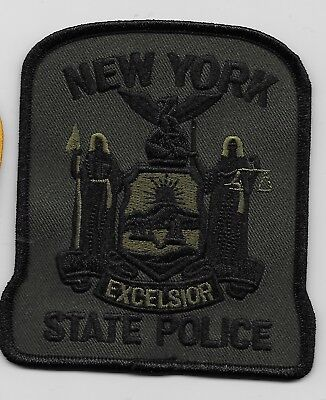 SWAT SRT Subdued Green New York State Police NY