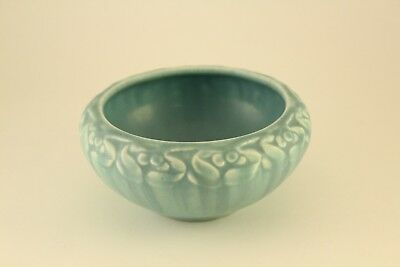 Rare Antique 1926 Rookwood Pottery Turquoise Blue Bowl Pattern #2152