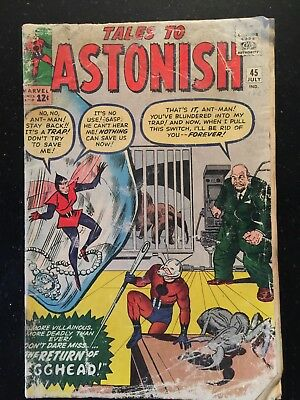 Tales To Astonish 45. Marvel Comics. July, 1963. Ant Man, Wasp !!