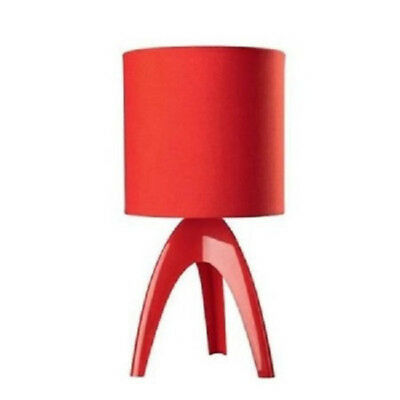 Philips Isacca Table Stand 43228 (RED) Black Moodlight Soft Light Night Light
