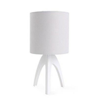 Philips Isacca Table Stand 43228 (WHITE) Black Moodlight Soft Light Night Light