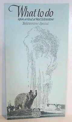 1923 Union Pacific Overland Yellowstone National Park Tourism Brochure