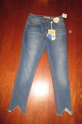 "YMI womens SZ 5 dark wash ""NWT"" WANNA BETTER BUTT? mid-rise ankle denim jeans"