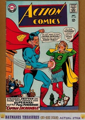 Action Comics #354 (8.0-8.5) VF+ Superman 1967 Silver Age Key Issue