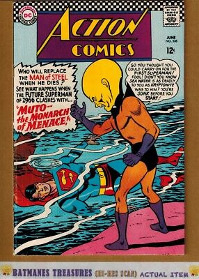 Action Comics #338 (7.5) VF- Superman 1965 Silver Age Key Issue