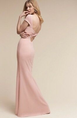 NEW $280 BHLDN Katie May Madison Dress Gown in Dusty Rose