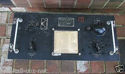RARE WWII TU-6-B Military U.S. Army Signal Corps TRANSMITTER TUNING UNIT 1940